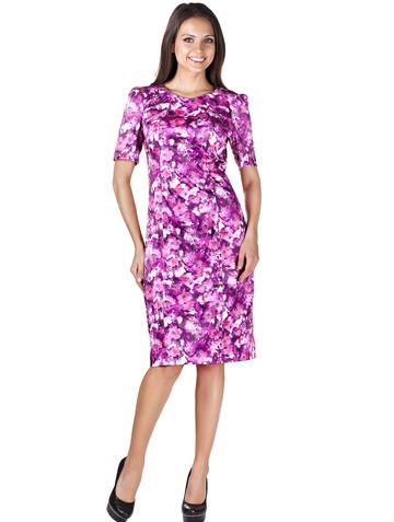 Платье sivilia, цвет малиновый