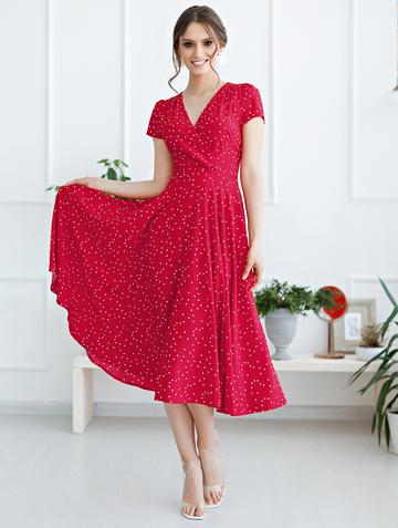 Платье ruta, цвет красный