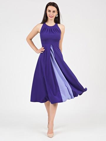 Платье antonella, цвет ультрамарин