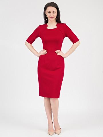 Платье fendy, цвет красный