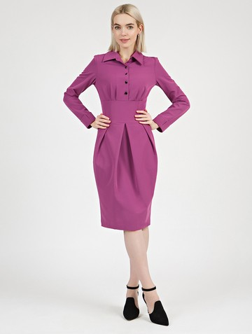 Платье nioby, цвет сиреневый
