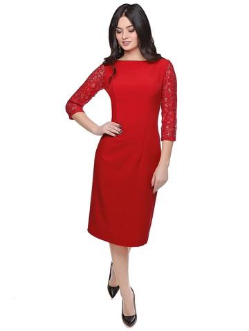 Платье roksana, цвет красный
