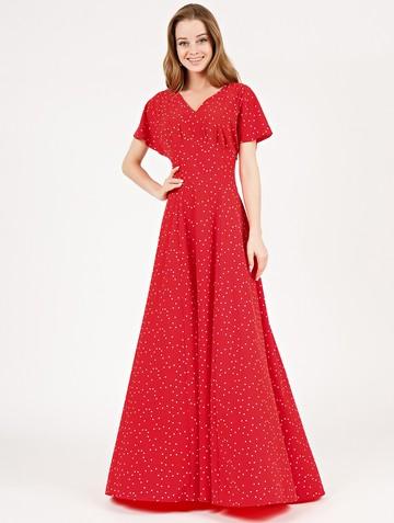 Платье edelmira, цвет красный