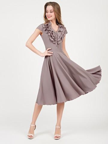 Платье fernanda, цвет капучино