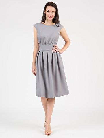 Платье ravena, цвет серый