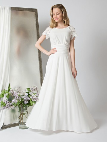Платье dorry, цвет молочный