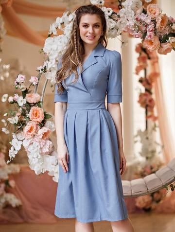 Платье darsia, цвет голубой