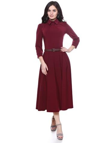 Платье reyna, цвет бордовый