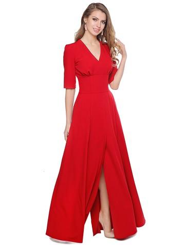 Платье lilia, цвет красный