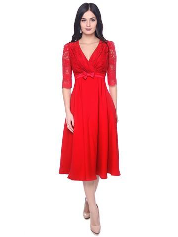 Платье arkana, цвет красный
