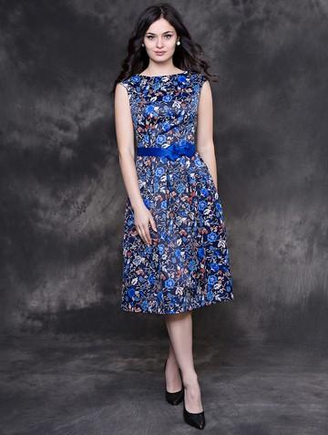 Платье alesta, цвет сине-голубой
