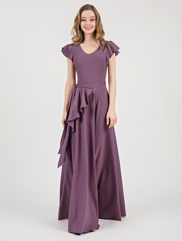 Платье selesta, цвет лиловый