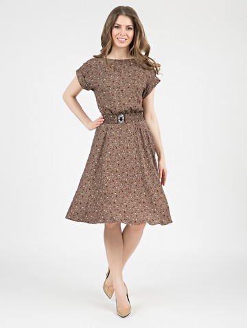 Платье lanty, цвет кофе с молоком