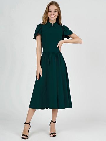 Платье luselia, цвет хвойный