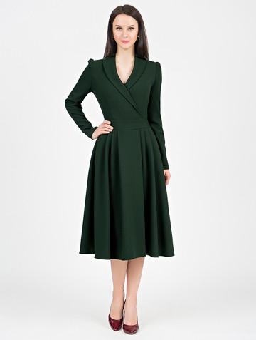 Платье storm, цвет темно-зеленый
