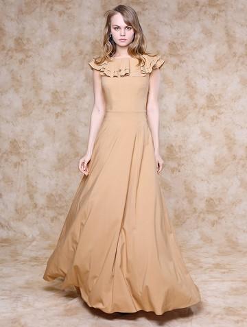 Платье hasmina, цвет бежевый
