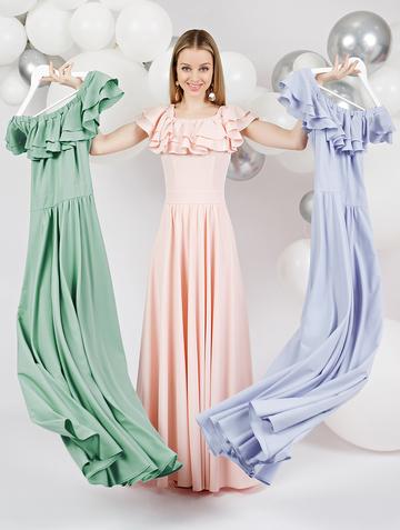 Платье arizona, цвет пудровый