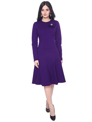 Платье avgustina, цвет фиолетовый