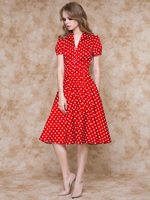6a4edd4856b ... Платье karly горошек на красном. Large a8662e35 4cd2 11e6 be3b  408d5c780b56
