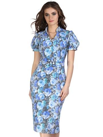 Платье tatamy, цвет серо-голубой