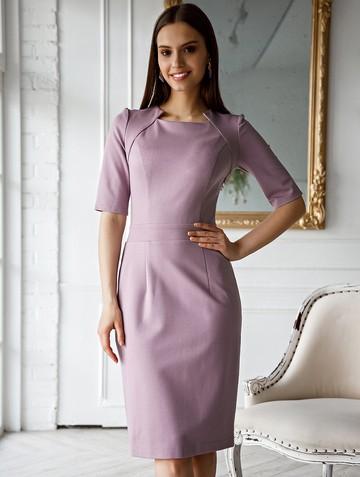Платье fendy, цвет лилово-розовый