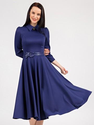 Платье macgery, цвет ультрамарин