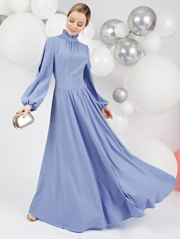 Платье deffy, цвет небесно-голубой
