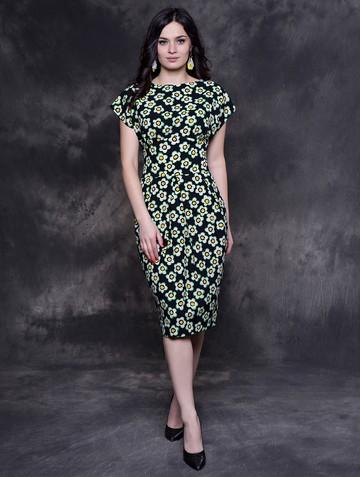 Платье djenna, цвет сине-зеленый