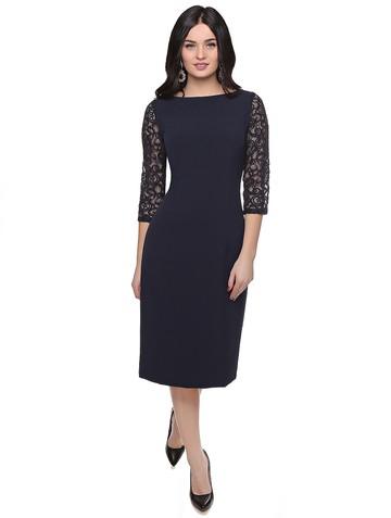 Платье roksana, цвет темно-синий