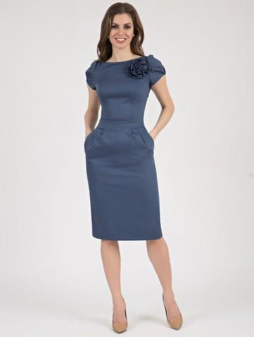 Платье ioganna, цвет индиго