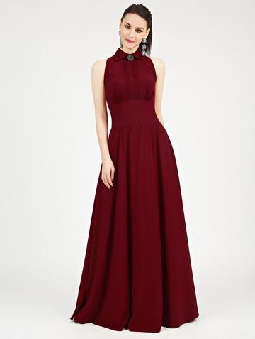 Платье dinia, цвет бордовый