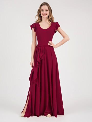 Платье selesta, цвет красный