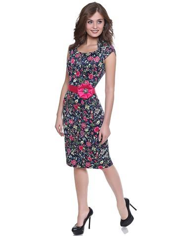 Платье bagira, цвет сине-розовый