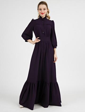 Платье deyla, цвет темно-фиолетовый
