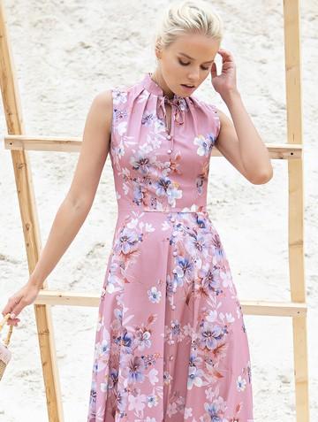 Платье ninbo, цвет лилово-розовый