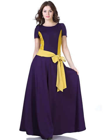 Платье keit, цвет фиолетово-желтый