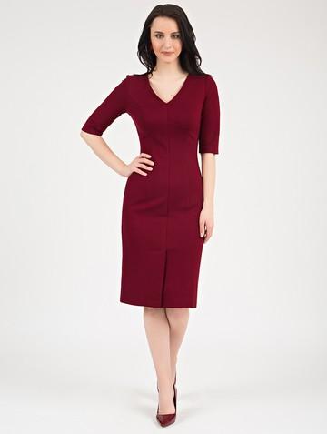 Платье mylove, цвет бордовый