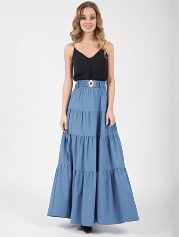 Юбка triana, цвет серо-голубой