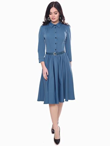 Платье susanna, цвет бирюзово-синий