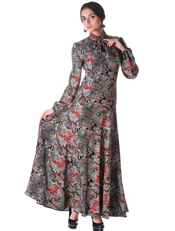 Платье tissa, цвет черно-красный