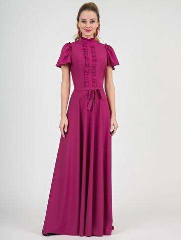 Платье selavy, цвет фуксия