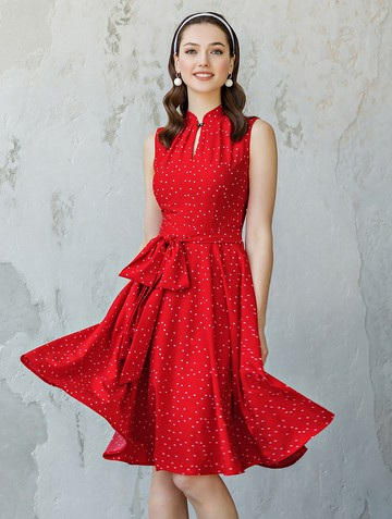 Платье diega, цвет красный
