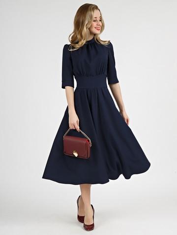 Платье sandrina, цвет темно-синий