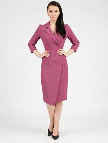 Платье normy, цвет сиренево-розовый