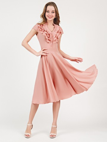 Платье fernanda, цвет пурпурно-розовый