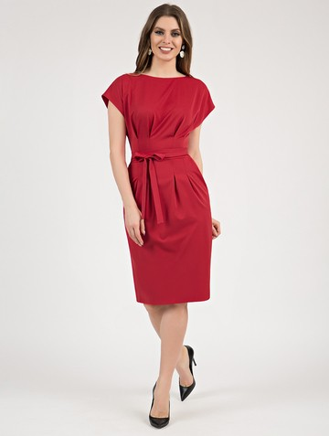 Платье elena, цвет красный