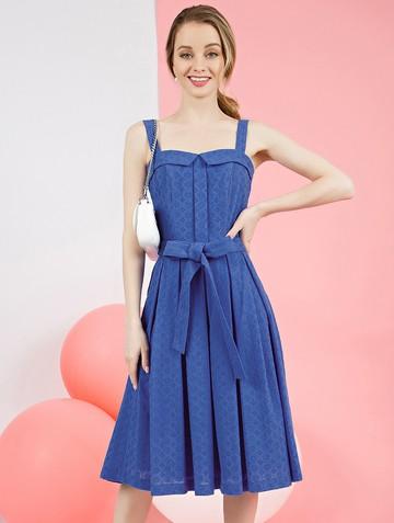 Платье peppy, цвет синий