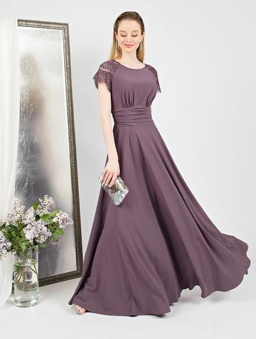 Платье dorry, цвет сиренево-лиловый
