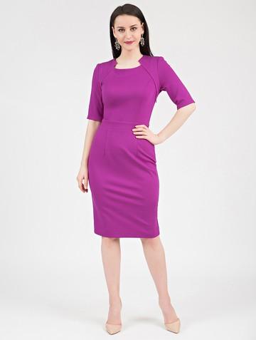 Платье fendy, цвет фуксия