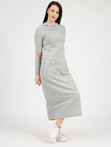 Платье best, цвет серый